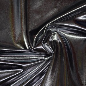 Парча стрейч 160  г/м2, цвет серебро (6822)