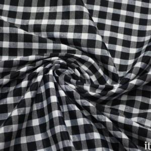 Ткань Хлопок Рубашечная, узор клетка (6552)