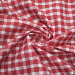 Ткань Хлопок Рубашечная, узор клетка (6553)