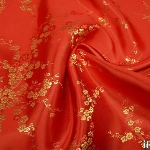 Ткань Китайский Шелк, узор цветочный (6430)