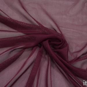 Сетка Трикотажная 100 г/м2, цвет бордовый (9849)
