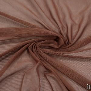 Сетка Трикотажная 100 г/м2, цвет коричневый (9857)