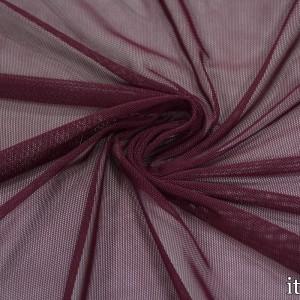 Сетка Трикотажная 100 г/м2, цвет бордовый (9867)