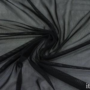 Сетка Трикотажная 100 г/м2, цвет черный (9868)