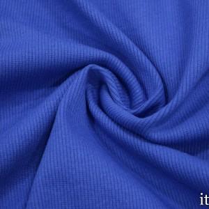 Трикотаж Рибана 380 г/м2, цвет синий (9884)