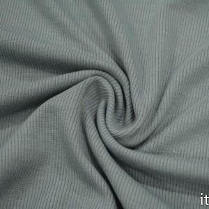 Трикотаж Рибана 260 г/м2, цвет серый (9895)