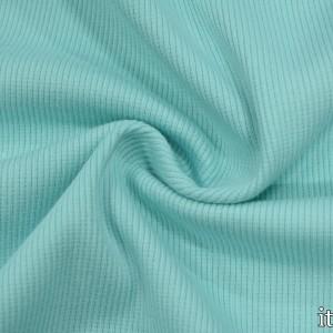 Трикотаж Рибана 380 г/м2, цвет голубой (9899)