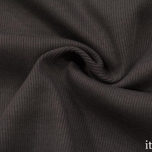 Трикотаж Рибана 380 г/м2, цвет коричневый (9900)