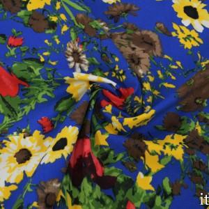 Ткань Хлопок Принтованный 7041 цвет разноцветный
