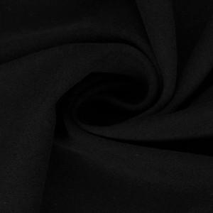 Хлопок костюмный 420 г/м2, цвет черный (10413)