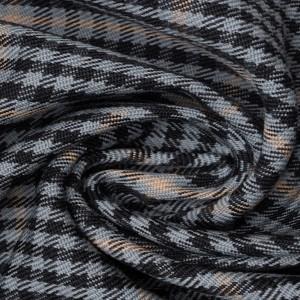 Пальтовая ткань 390 г/м2, узор клетка (9626)