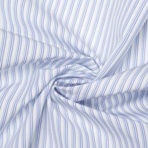 Хлопок рубашечный 120 г/м2, узор полоска (9542)
