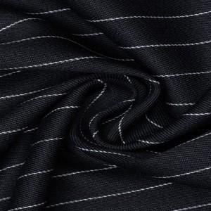 Костюмная ткань 210 г/м2, узор полоска (9601)