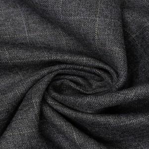 Костюмная ткань 200 г/м2, цвет серый (9614)
