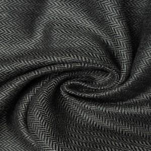 Шерсть костюмная 175 г/м2, цвет серый (9579)