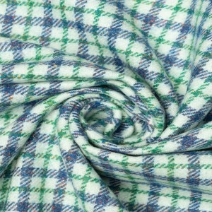 Пальтовая ткань 240 г/м2, узор клетка (9575)