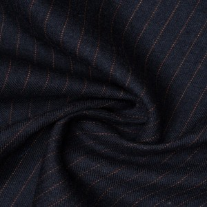 Костюмная ткань 230 г/м2, узор полоска (9588)