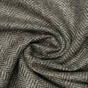 Шерсть пальтовая 220 г/м2, цвет серый (9633)