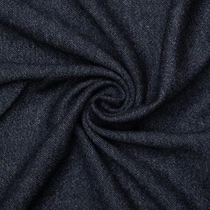 Трикотаж шерстяной 250 г/м2, цвет синий (9404)