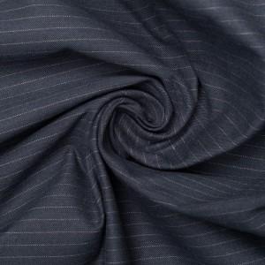Хлопок костюмный 170 г/м2, узор полоска (9407)