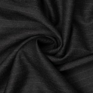 Шерсть костюмная Boglioli 200 г/м2, цвет черный (9462)