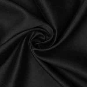 Шелк плательный 90 г/м2, цвет черный (9481)