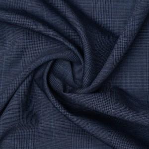 Шерсть костюмная Boglioli 160 г/м2, узор клетка (9415)