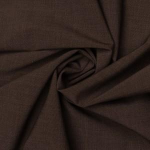 Ткань костюмная 160 г/м2, цвет коричневый (9495)