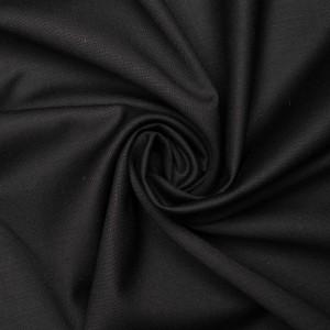 Ткань плательная Boglioli 140 г/м2, цвет черный (9412)