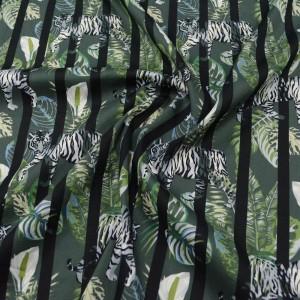 Хлопок рубашечный 105 г/м2, цвет зеленый (10123)