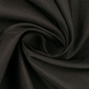 Курточная ткань 220 г/м2, цвет черный (10231)