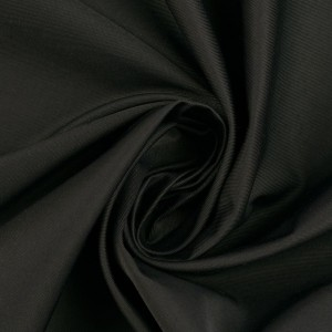 Курточная ткань 190 г/м2, цвет черный (10230)