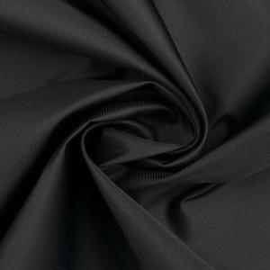 Курточная ткань 130 г/м2, цвет черный (10225)