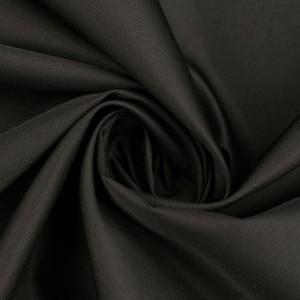 Курточная ткань 130 г/м2, цвет черный (10211)
