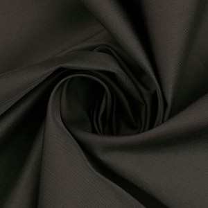 Курточная ткань 110 г/м2, цвет черный (10212)