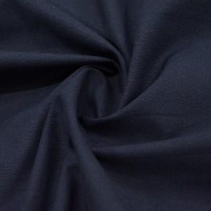 Лён Костюмный 175 г/м2, цвет черный (10009)