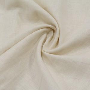 Лен Рубашечный 130 г/м2, цвет молочный (10012)