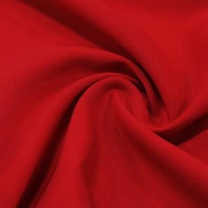 Лен Рубашечный 120 г/м2, цвет красный (10016)