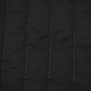 Стеганая ткань курточная 250 г/м2, цвет черный (10005)