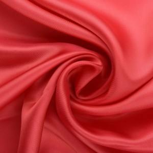 Подкладочная ткань шелковая 80 г/м2, цвет красный (10081)