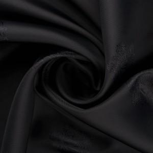 Вискоза подкладочная 70 г/м2, цвет черный (10079)