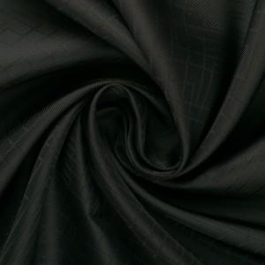 Купра подкладочная 80 г/м2, цвет черный (10097)