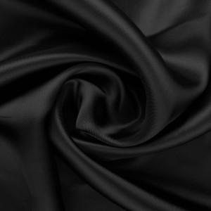 Вискоза подкладочная 70 г/м2, цвет черный (10070)
