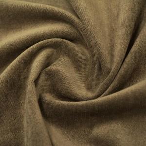 Велюр 305 г/м2, цвет коричневый (10047)