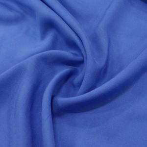 Штапель вискоза 130 г/м2, цвет синий (10023)