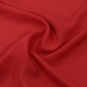 Штапель вискоза 130 г/м2, цвет красный (10024)