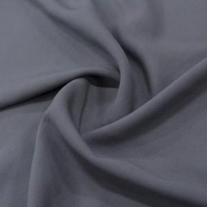 Штапель вискоза 130 г/м2, цвет серый (10034)