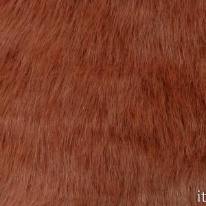 Мех искусственный 7921 цвет оранжевый