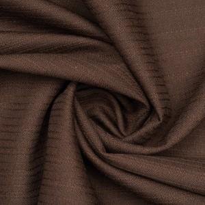 Костюмная ткань 170 г/м2, цвет коричневый (9728)