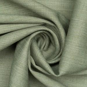Костюмная ткань 210 г/м2, цвет зеленый (9724)